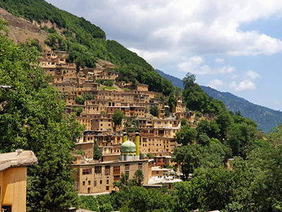 Masuleh carbon offset green travel Uppersia Iran