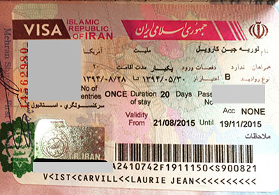 iran visa american passport holder