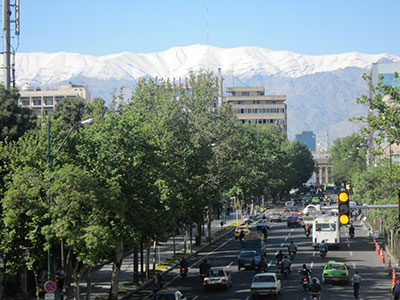 Tehran-in-snow-short-trip