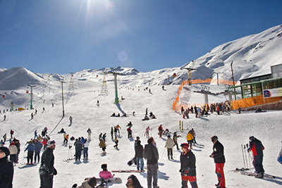 dizin skiing resort